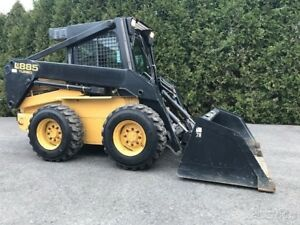 New Holland Lx885 Rubber Tire Skid Steer Loader Cab Diesel Wheel Skidsteer