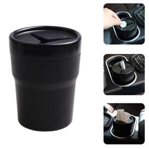 Drive Bin Car Auto Trash Can For Litter Small Holder For Pen Coins J