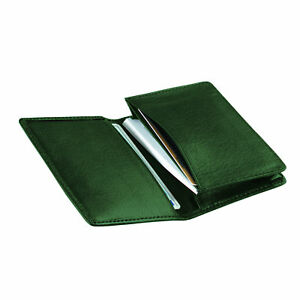Royce Top grain Nappa Leather Executive Business Card Case Green