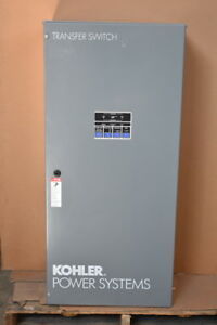 Transfer Switch Auto 230a 208v 4w 3p 3ph Kct acta 0230s Kohler