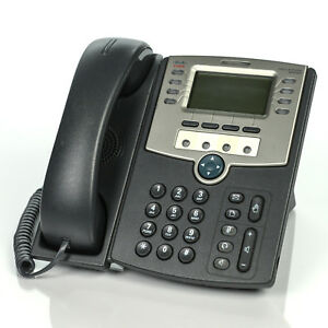 Cisco Spa509g 12 line Ip Poe Office Display Voip Phone W Handset Stand Cord