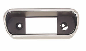 1967 1968 Ford Mustang Radio Bezel without Console Ford Tooling Scott Drake