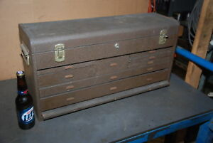 Kennedy 526 125620 Tool Chest 9 Drawers Inv 26860