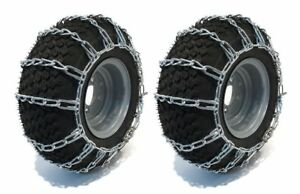 Tire Chains For Garden Tractor Lawn Mower Rider 2 link 26x12x12 By The Rop Shop