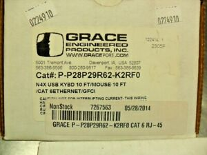 Grace Industries P p28p29r62 k2rf0 New In Box