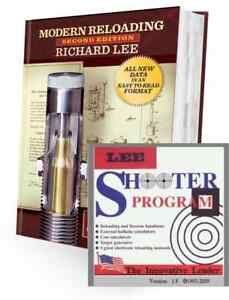 LEE RELOADING MANUAL 2ND EDITION + SHOOTER SOFTWARE NEW DATA FORMAT GREAT GIFT