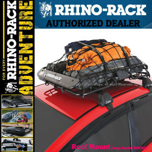 Rhino Rack Rmcb01 Xtray Heavy Duty Universal Roof Cargo Basket