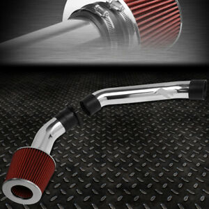 For 03 06 Infiniti G35 Lightweight High Flow Cold Air Intake System red Filter