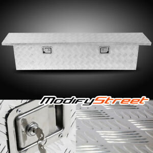 60 Silver Aluminum Pickup Truck Bed Underbody Tool Box Trailer Rv Tote Storage
