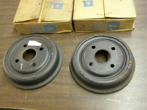 Nos Oem Ford 1964 1970 Mustang Falcon Rear Brake Drums 4 Lug 1965 1966 1967 1968