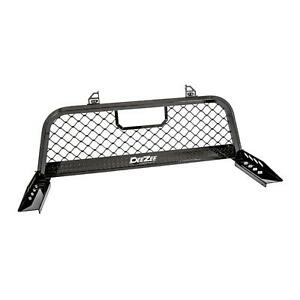 Deezee Dz 95072rb Aluminum 2 75 Gloss Black Front Truck Rack For F 250 F 350