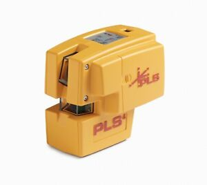 Pls 4 Red Cross Line Laser Level Kit With Plumb Bob And Level Pls 60588 By