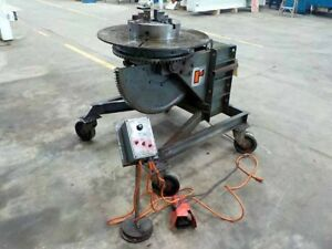 2500 Lbs Ransome Model 25p Welding Positioner