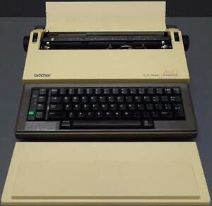 Brother Electronic Typewriter Electric Portable Ax 10