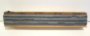 Kingsley 12pt Lower Case Bernhard Gothic Type For Hot Foil Stamping Machine