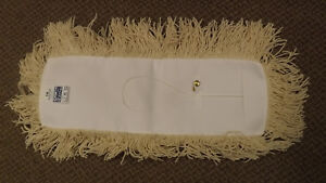 24 Pack Lot Algoma 18 Industrial Dust Mop Refill Head Usa Made Fringe Cotton