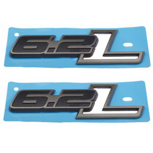 2x Oem 6 2l Emblem Badge Side Fender 3d Decal W For Ford F 150 Ratpor F150 6 2 L