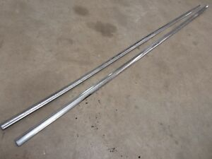 1957 Pontiac Chieftain 4 Door Sedan Exterior Rear Quarter Panel Trim Molding D
