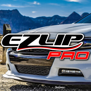 Ez Lip Pro Front Bumper Lip Splitter Air Dam For Chevy Dodge Ford