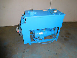 Continental Pvr6 8b15 rf 0 6 f Hydraulic Power Unit 5 Hp 8gpm