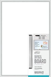 New Board Dudes Magnetic Dry Erase Aluminum Framed Board 35 X23 Free Shipping