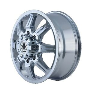 Mayhem 8101 2870cf Monstir 8101 Front Chrome 20x8 25 Wheel 127 Offset 124 9 Hub