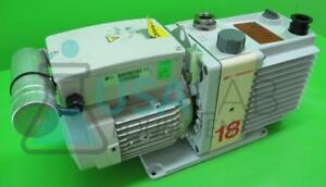 Edwards E1m18 Rotary Vane Single Stage Vacuum Pump 2