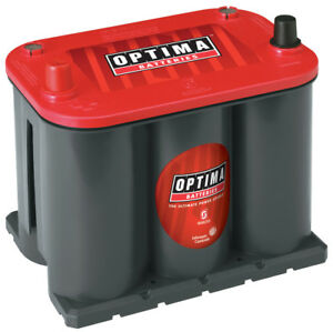 Battery red Top Optima Battery 8025 160