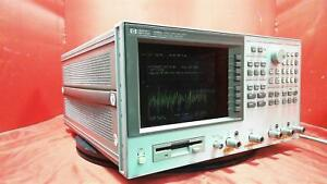 Hp Agilent Keysight 4396a Rf Network Spectrum Impedance Analyzer