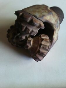 5 3 4 Mill Tooth Tricone Drill Bit Oil Gas And Water Drilling 6 Texas Vintage