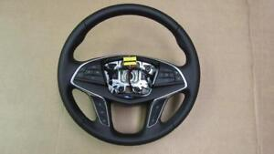 2016 2017 Cadillac Ct6 Black Leather Steering Wheel W Control Buttons 84016892