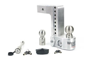 Weigh Safe Ws8 2 Adjustable Hitch Mount W Keyed alike 3 1 2 X 5 8 Lock