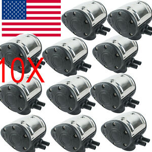 us 10x L80 Pneumatic Pulsator For Cow Milker Milking Machine Farm Cows
