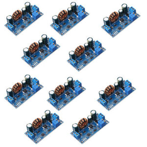 10x Cvcc Adjustable Voltage Regulator Automatic Step Up Down Power Supply Module