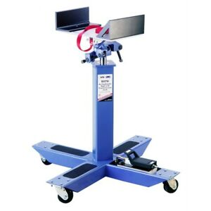 Air Assisted 2 000 Lb Capacity High Lift Transmission Jack For Trucks And Buses