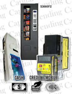 Crane Navigator Credit Card Kit For Seaga Gf12 Snack Machine With Refurb Mars