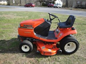 Nice Kubota Tg 1860 G Riding Mower Only 485 Hours