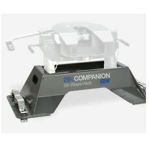 B W Hitches Rvb3705 5th Wheel Hitch Companion Base 25k For Gm Pucks