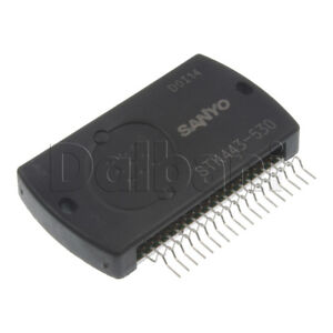 Stk443 530 Original New Sanyo Audio Ic Power Amplifier Integrated Circuit