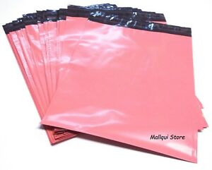 100 Pink Color Poly Mailer Bags 14 5 X 19 Boutique Shipping Envelope Mailing