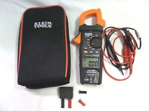Klein Tools 600a Ac True Rms Auto ranging Digital Clamp Meter Cl700 excellent