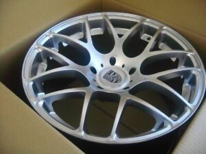 20 inch Porsche 911 Carrera 996 997 991 Ruger Forged Wheels Silver 5x130 Lugs
