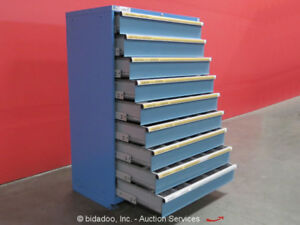Lista 9 drawer Tool Cabinet Shop Industrial Equipment Storage Box Bidadoo