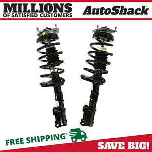 Front Pair 2 Complete Struts Assembly W Coil Springs Fits 2003 2013 Volvo Xc90