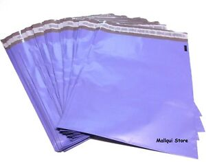 100 Purple Color Poly Mailer Bags 14 5 X 19 Boutique Shipping Envelope Mailing