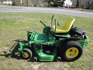 John Deere 717 Zero Turn Mower With Only 758 Hours