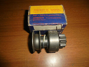 Fiat 500 D F L Autobianchi Bianchina Sprocket Motor Start