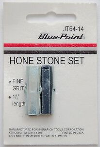New Blue point Jt64 14 Hone Stone Set 2 arm Fine Grit 1 1 8 Brake Service Tool