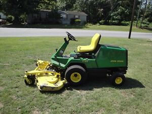 Very Nice John Deere F725 Frontcut Mower Only 462 Hours