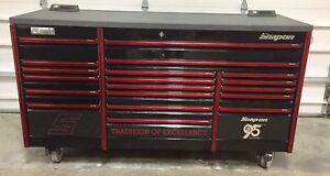 Snap On Epic 84 Tool Box 95th Anniversary Edition Special Black With Red Trim